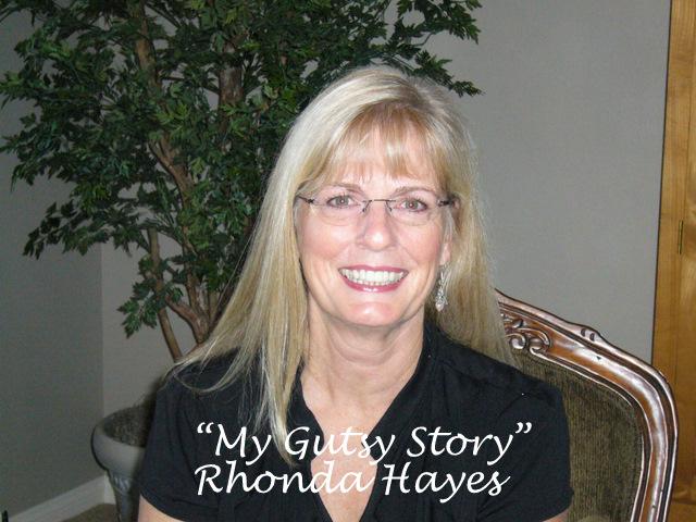 """My Gutsy Story"" by Rhonda Hayes"
