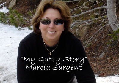 "Winner of the May ""My Gutsy Story"" contest"
