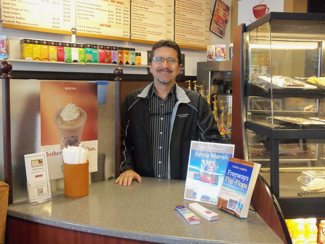 Tony, Owner of Cool Beans Coffee House