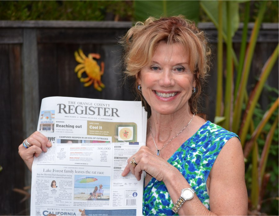 """My """"OC Register"""" Interview on Front Page"""