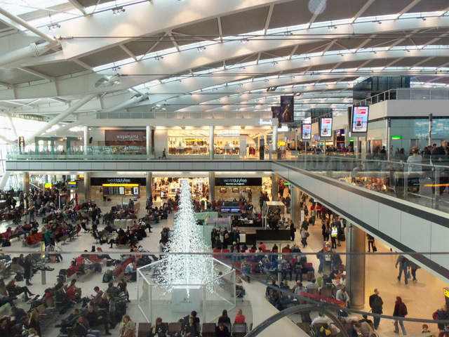 Heathrow Airport , LondonTerminal 5