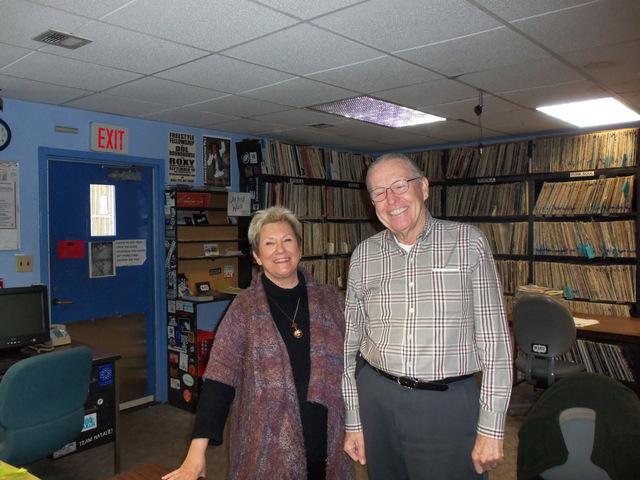 Nancy Klann-Moren and Charlie Leister
