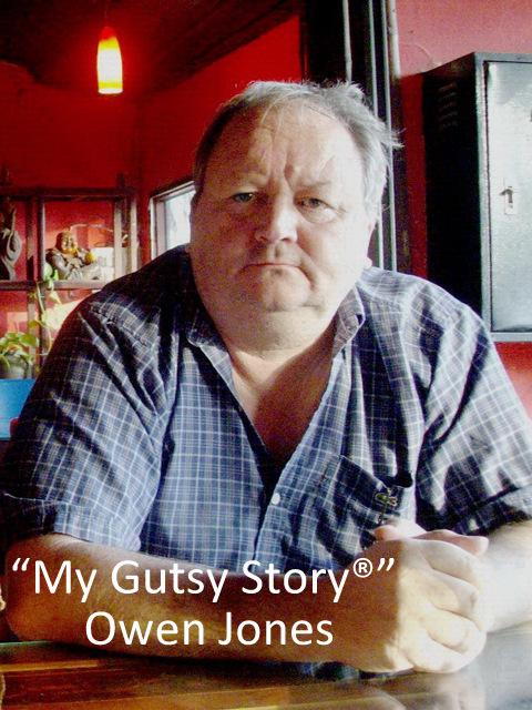 """""""My Gutsy Story®"""" Owen Jones"""