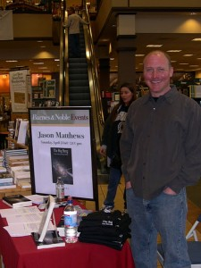 Jason Matthews Barnes & Noble 2006 author signing
