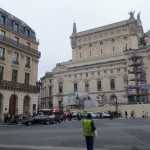 Another view of Place de L'Opera.