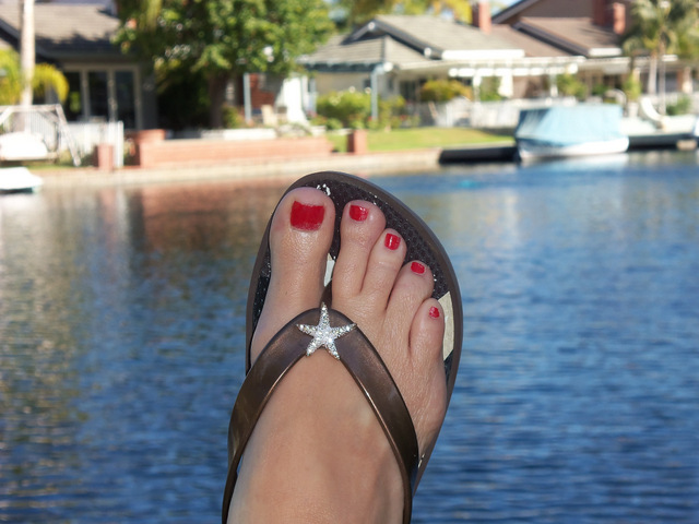 Gutsy Flip-Flops and Toenail Contests