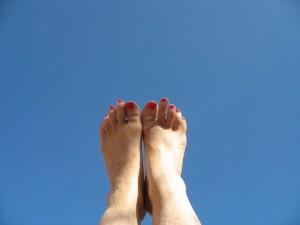 Bonnie's feet