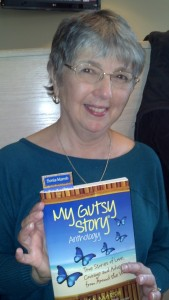 "Kathleen Pooler has a ""My Gutsy Story"" on page 89."