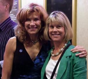 Sonia Marsh with Marybeth Bond