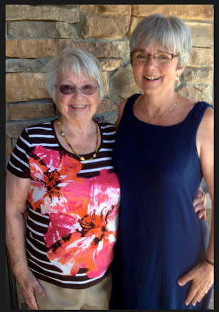 Shirley Showalter and her mom