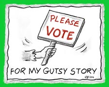 "Vote For Your Favorite January ""My Gutsy Story®"""