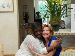 2 Nominees Fee Johnson and me (Sonia Marsh)