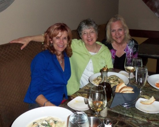 Sonia Marsh, Kathy Pooler and Susan Weidener