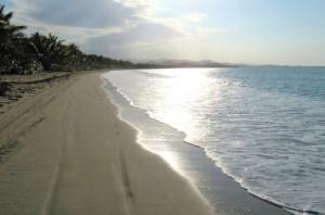 Beach near Miches, Samana Bay