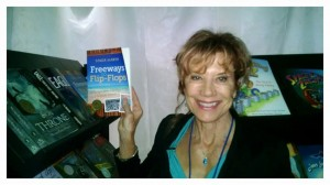 Sonia at Readers Favorite Booth at 2014 Miami Book Fair