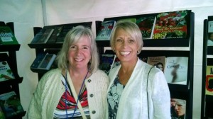 My author friends, Susan Ellison Busch and Linda Kovic-Skow