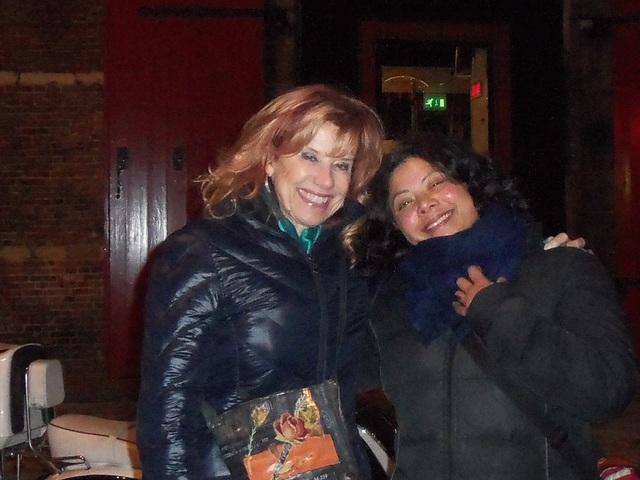 Sonia and Ubit in Amsterdam