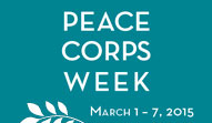 Why I'm Celebrating Peace Corps Week