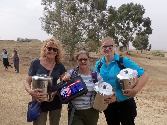 Sonia,Patricia,Heather water filters