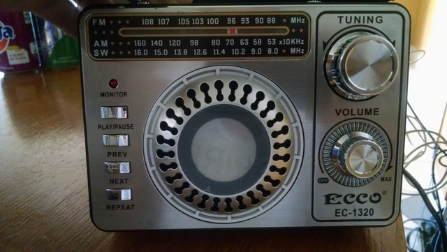 My wonderful $10 radio