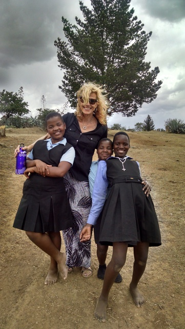 The wonderful girls in Lesotho