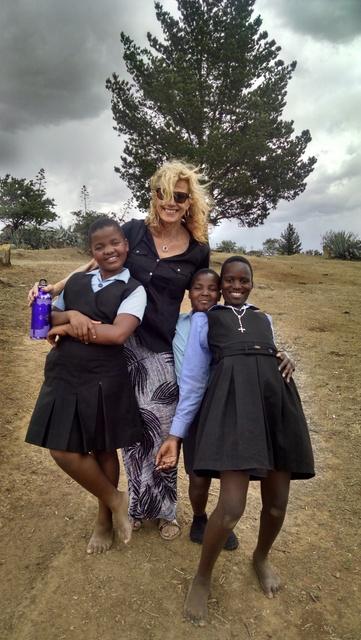 The wonderful girls in Lesotho