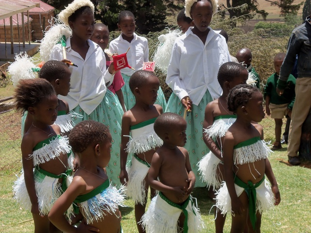 This is Where I Shall be Teaching and Living in Lesotho