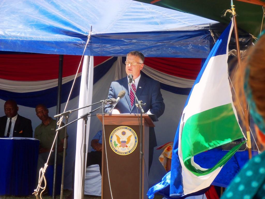 Ambassador Harrington