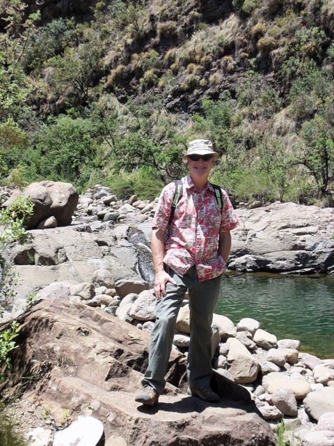 Thomas a fellow European/American PCV teacher in Lesotho