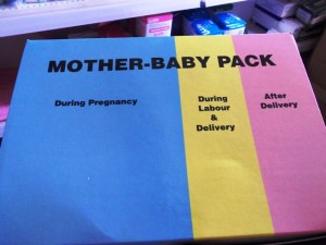 Mother-baby pack