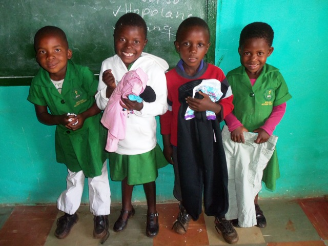 The Orphans and Vulnerable Children Are Grateful