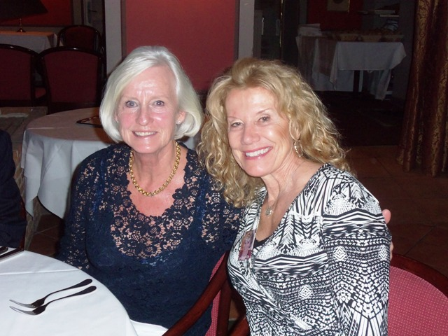 My Danish friend Annette who knew my mother and we've stayed in touch.