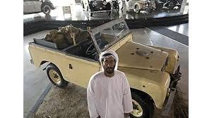 Land Rovers from 1948 with the Bedouins